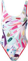 Mara Hoffman print swimsuit - women - Polyester/Spandex/Elastane/Nylon - XS