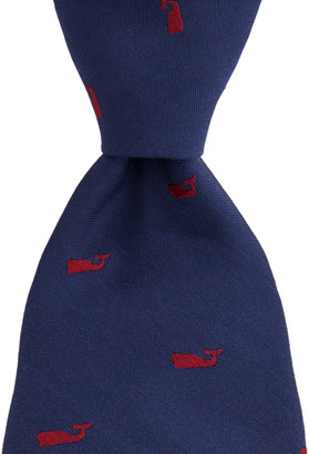 Vineyard Vines Kennedy Vineyard Whale Skinny Tie