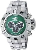Invicta Men's 'Subaqua' Quartz Stainless Steel Casual Watch, Color:Silver-Toned (Model: 24449)