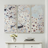 """Wyatt Madison Park """"Gleeful Bloom"""" by Norm Jr. 3 Piece Painting Print on Wrapped Canvas Set"""