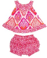 Infant Girl's Masalababy Rhythm Top & Bloomers Set
