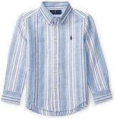 Ralph Lauren Striped Linen-Cotton Shirt