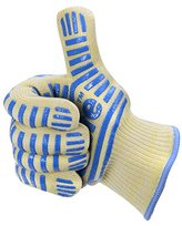Cooking Grill Fireproof Gloves, Koolife Oven Mitts - 932 F Extreme Heat Resistant