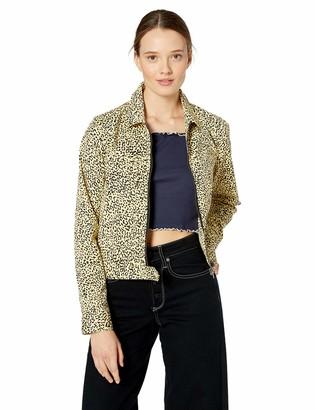 Volcom Womens Frochickie Zip Front Jacket