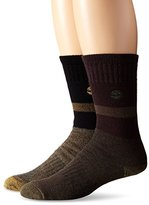 Timberland Men's 2 Pack Assorted 10 Inch Boot Sock