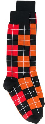 Marni Jacquard Check Socks