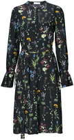 Altuzarra floral print midi dress - women - Silk - 34