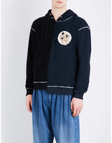 J.w. Anderson Distorted Cotton-jersey Hoody