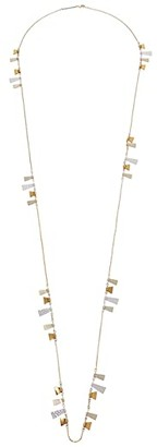 Kendra Scott Lynne Long Strand Necklace (Mixed Metal) Necklace