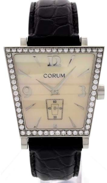 Corum 106.44.47 Trapeze Stainless Steel Diamonds Watch