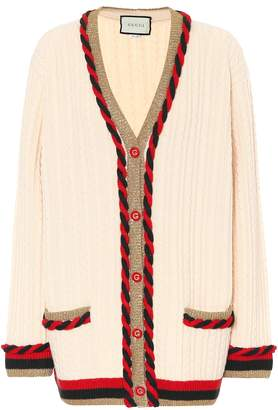 Gucci Wool and cashmere cardigan