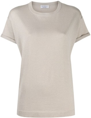 Brunello Cucinelli relaxed-fit knitted T-shirt