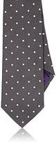 Ralph Lauren Purple Label MEN'S DOTTED SILK NECKTIE