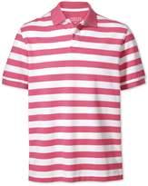 Charles Tyrwhitt Dark Pink Stripe Pique Cotton Polo Size XXXL