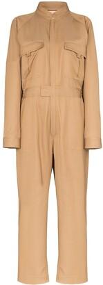 Plan C zip-up boiler suit