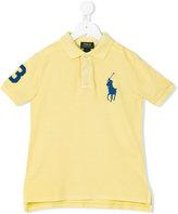 Ralph Lauren side slits polo shirts