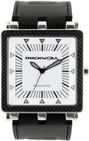 Rockwell Men's CF101 Men Black Leather and White Watch