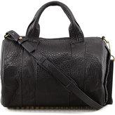 Alexander Wang Rocco Stud-Bottom Satchel Bag, Brass