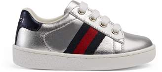 Gucci Toddler Ace leather sneaker
