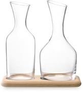 LSA International Wine Water & Wine Carafe Set