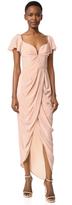 Zimmermann Silk Flutter Long Dress
