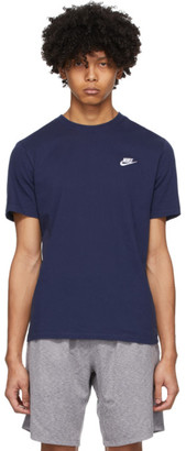 Nike Navy Club T-Shirt