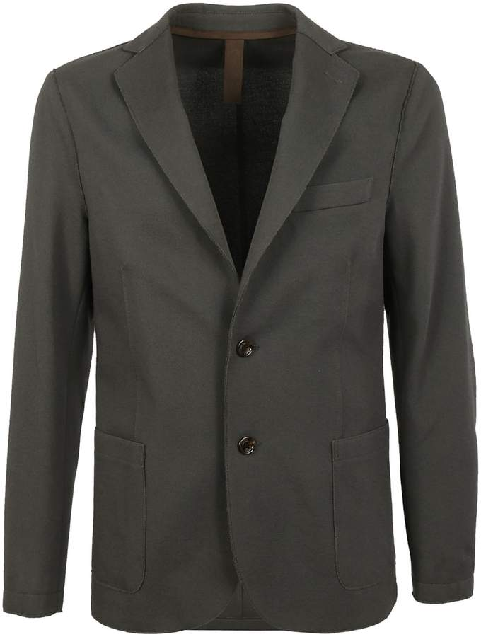 Eleventy Elbow Patch Blazer