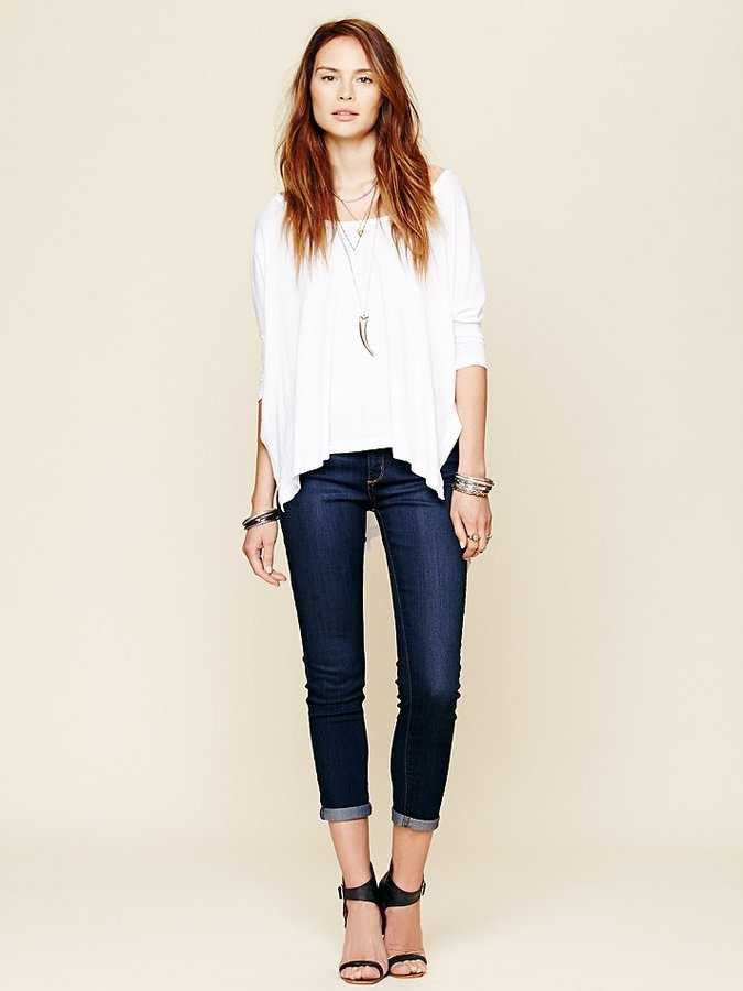 Free People Rolled Cropped Skinny