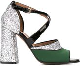 Marni 'One Band' glitter sandals