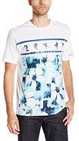Robert Graham Men's Sea of Salt Club S/Knit T-Shirt