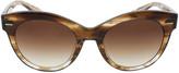 Oliver Peoples The Row Georgica Brick Sunglasses