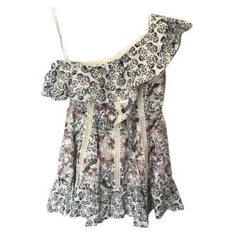 Tularosa Multicolour Cotton Dress for Women
