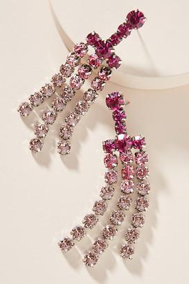 Anthropologie Dannijo Asher Drop Earrings By in Pink