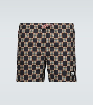 Burberry Greenford drawcord swim shorts