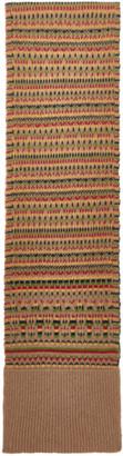 Wales Bonner Multicolor Wool Fair Isle Scarf