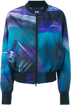 Y-3 printed bomber jacket - women - Polyester - XS