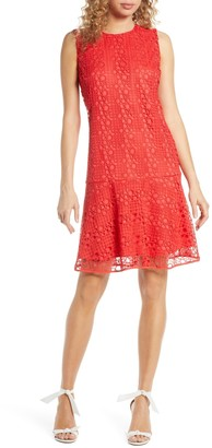 Sam Edelman Sleeveless Drop Waist Lace Dress