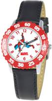 Spiderman Marvel Comics Kids' W000109 Stainless Steel Time Teacher Watch