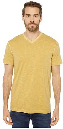 Mod-o-doc El Porto Short Sleeve V-Neck Tee (Black 1) Men's T Shirt