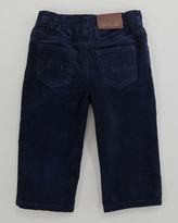 Ralph Lauren Fine-Wale 5-Pocket Corduroy Pants, Newport Navy, 9-24 Months