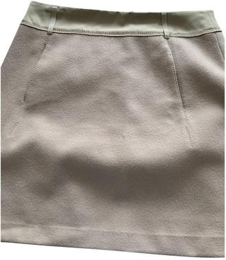 Schumacher Beige Wool Skirt for Women