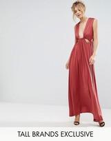 True Decadence Tall Cut Out Detail Maxi Dress