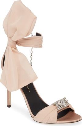 Giuseppe Zanotti Bow Ankle Strap Sandal