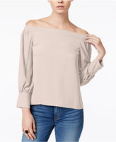 Bar III Off-The-Shoulder Top, Only at Macy's
