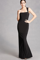 Forever 21 FOREVER 21+ Cutout Back Maxi Dress