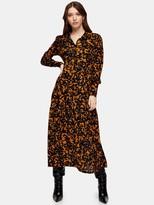 Topshop TieredMidi Dress - Multi