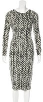 Rogan Textured Knit Dress