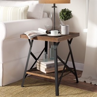 Three Posts Imboden End Table