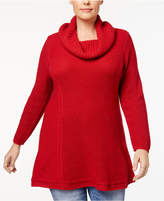 Style&Co. Style & Co Plus Size Cowl-Neck Tunic, Created for Macy's