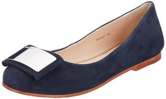 JOOP! Women's Anthea Ballerina lfo 2 Closed Toe Ballet Flats Dark Blue 402 6 UK